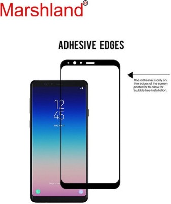 Marshland Tempered Glass Guard for Samsung Galaxy A8 Star(Pack of 1)