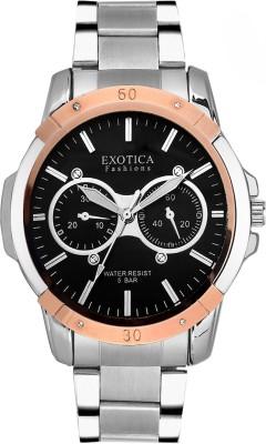 Exotica Fashions EFG-05-TT-ST-DM-B-NS New Series Analog Watch  - For Men
