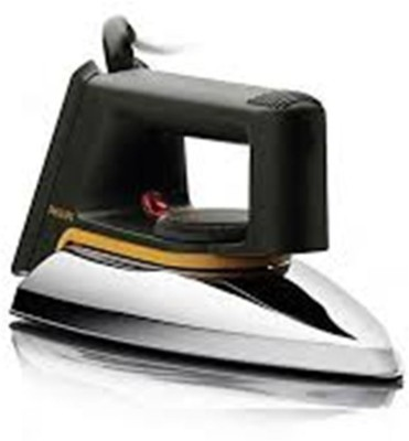 SS IRON BOX 002 1200 W Dry Iron(Black, Silver)