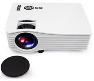 vnexx UC36 Mini Led Projector Home Theater Portable Projector(White)