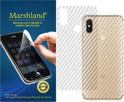Marshland Back Screen Guard for Mi Redmi Y2, Flexible Designer Protector Smart Looking, 3D Touch Feel Flexible Anti Scratch Bubble Free Back Screen(Pack of 1)