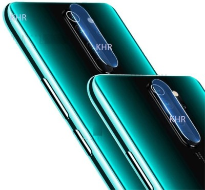 KHR Camera Lens Protector for Redmi Note 8 pro Lens Protector Flexible Tempered Glass Protector Screen Guard(Pack of 2)