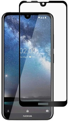 GeekMart Edge To Edge Tempered Glass for Nokia 6.2(Pack of 1)
