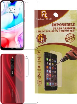 FashionCraft Front and Back Screen Guard for Mi Redmi 8A Dual, Mi Redmi 8A, Mi Redmi 8, Mi Redmi 8A Pro(Pack of 2)
