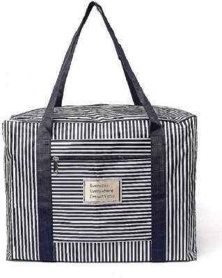 Luxula Folding Waterproof Shoulder Luggage Handbag Small Travel Bag   Medium Black Luxula Small Travel Bags