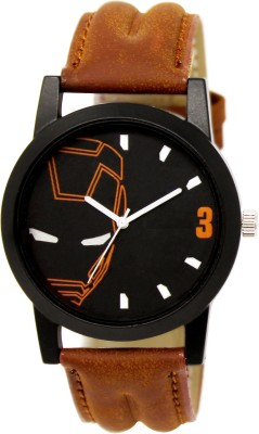 EElix EE-004 New Unique Collection Stylish Analog Watch For Boys And Mens Analog Watch - For Men EE-004 Brown Analog Watch  - For Men