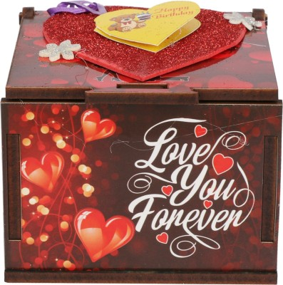 Vincenzo Love You Forever Happy Birthday Greeting Card(Multicolor, Pack of 1)