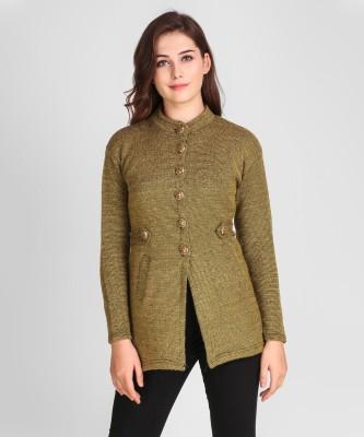 Divastri Women Button Solid Cardigan