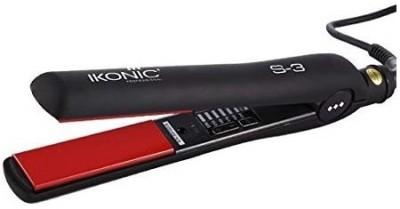 IKONIC S3 S3 Hair Straightener(Black, Red)