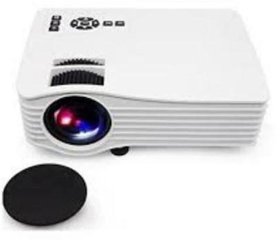 vnexx UC36 Portable Mini LED Projector Portable Projector(White)
