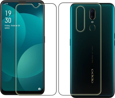 FashionCraft Front and Back Screen Guard for Oppo F11(Pack of 2)