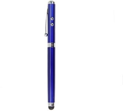 Vinayakart 4 in 1 Stylus Pen with inbuilt Laser Stylus Blue Vinayakart Stylus Pens