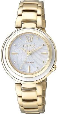 Citizen EM0336-59D Eco Drive Analog Watch - For Women