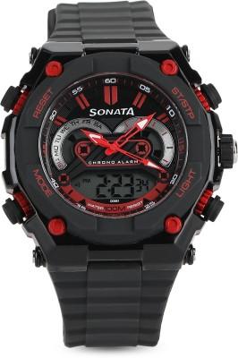 SF NH77030PP01J Analog Digital Watch   For Men SF Wrist Watches
