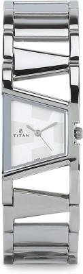 Titan NH2486SM01 Purple Analog Watch   For Women Titan Wrist Watches