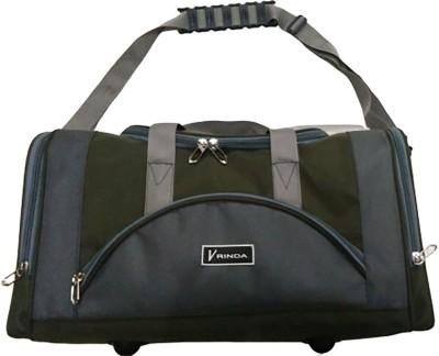 Vrinda's Travel Bag   size 20\ Green, Grey Vrinda's Duffel Bags