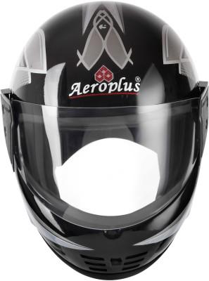 AEROPLUS SMART SILVER Full Face Helmet Motorbike Helmet(Silver)