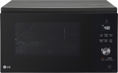 LG 32 L With Twister Smog Handle Convection Microwave Oven(MJEN326SF, Black)