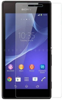 Tuta Tempered Screen Guard for Sony Xperia M2 Dual(Pack of 3)