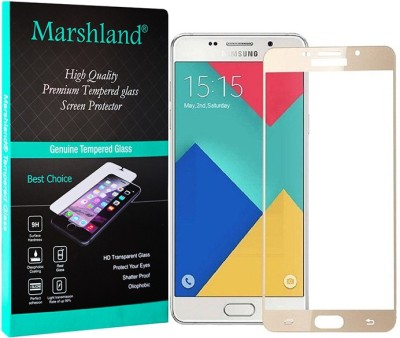 Marshland Tempered Glass Guard for SAMSUNG Galaxy A9 Pro(Pack of 1)