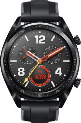 Huawei Watch GT Sport Graphite Black Smartwatch(Black Strap Regular)