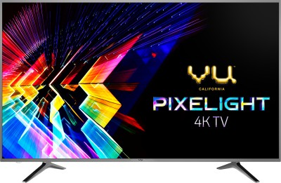 Vu Pixelight 138cm (55 inch) Ultra HD (4K) LED Smart TV(55 QDV / 55 QDV -V1)