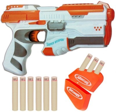 Richuzers Premium Range Super Weapon Nerf Gun Soft Bullet Toy Gun Guns & Darts(Multicolor)