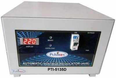 PULSTRON PTI 5135D 5 KVA  135V 290V  Single Phase Automatic Voltage Stabilizer for Mainline Grey