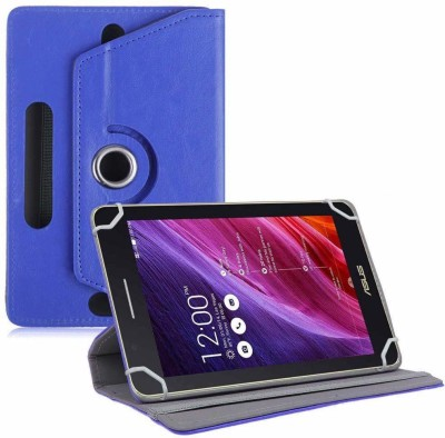 TGK Flip Cover for Asus Fonepad 7 Fe171cg Tablet 7 inch with Rotating leather Stand Case(Blue, Cases with Holder)