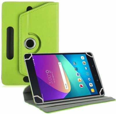 TGK Flip Cover for Asus Zenpad Z8s ZT582KL ASUS-P00J LTE Tablet 7.9 Tabletwith Rotating leather Stand Case(Green, Cases with Holder)