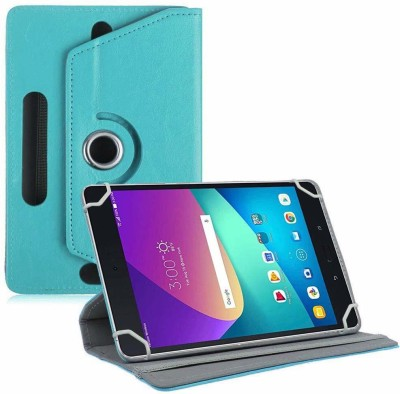 TGK Flip Cover for Asus Zenpad Z8s ZT582KL ASUS-P00J LTE Tablet 7.9 Tabletwith Rotating leather Stand Case(Sky Blue, Cases with Holder)