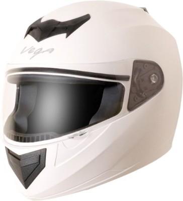 VEGA Edge Motorbike Helmet(White)