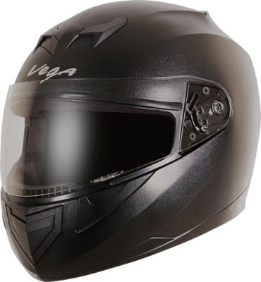 VEGA Edge Motorbike Helmet(Black)