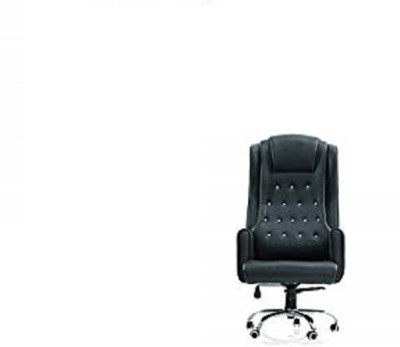 MRC Executive Chairs Maharaja063 Leather Office Executive Chair(Black)