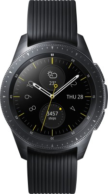 Samsung Galaxy Watch 42 mm LTE Smartwatch(Black Strap, Regular)