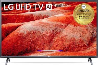 LG 108cm (43 inch) Ultra HD (4K) LED Smart TV(43UM7780PTA)