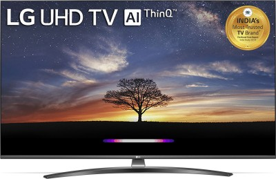 LG 139cm (55 inch) Ultra HD (4K) LED Smart TV(55UM7600PTA)