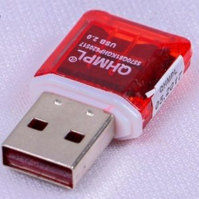 Quantum QHMPL TF Card reader 5570 5570 Laptop Accessory Red Quantum Mobile Accessories