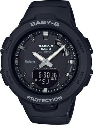 Casio BX145 Baby-G ( BSA-B100-1ADR ) Analog-Digital Watch - For Women