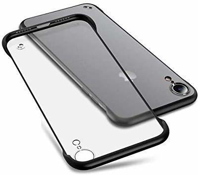 Mobile Mart Back Cover for Apple iPhone XR(Black, Hard Case)