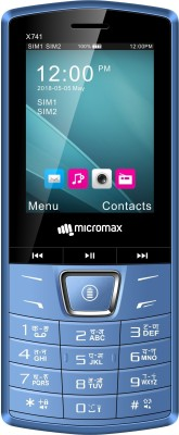 Micromax X741(Blue)