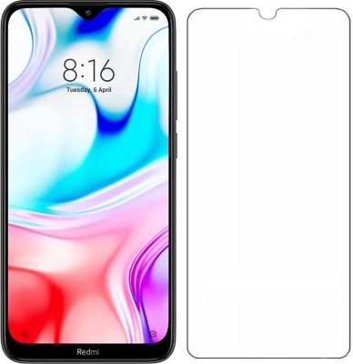 Mobizworld Tempered Glass Guard for Xiaomi Redmi 8(Pack of 1)