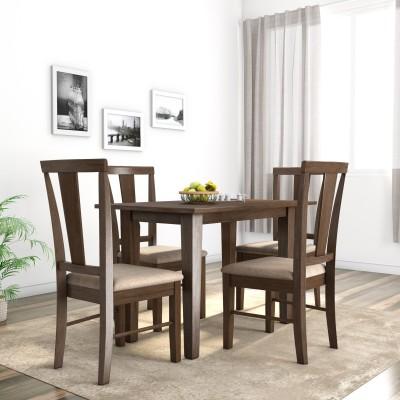 Flipkart Perfect Homes Fraser Solid Wood 4 Seater Dining Set(Finish Color -...
