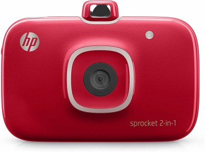 HP Photo Printer 2FB96A#742 Instant Camera(Red)