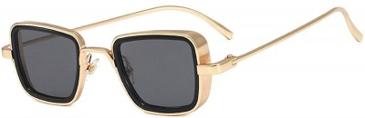 BLS Rectangular Sunglasses(Black)