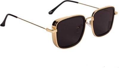 Criba Rectangular Sunglasses(Black)