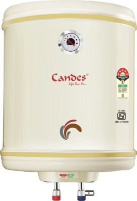 Candes 25 L Storage Water Geyser (PERFECTO, Beige)