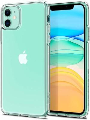 Krkis Back Cover for Apple iPhone 11(Transparent)