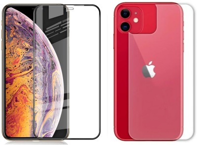 VaiMi Front and Back Screen Guard for Apple iPhone 11(Pack of 2)