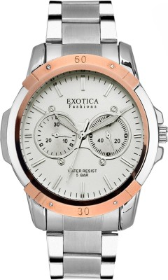 Exotica Fashions EFG-05-TT-ST-DM-W-New New Series Analog Watch  - For Men